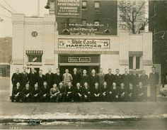 The first white castles in Detroit