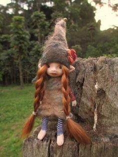 tiny ooak fairy by throughthemagicdoor
