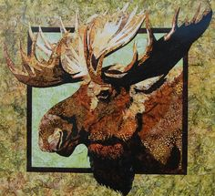 https://www.etsy.com/treasury/MTMwNzI3Mjl8MjcyMjU1NTA3Nw/clever-gifts-for-good-friends Moose Quilt Pattern by Toni Whitney of by vintageinspiration, $6.50