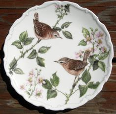 Royal Albert Porcelain Plate Bird Birds Summer Song English England UK   eBay  -  This arrived in the mail yesterday.  It is so pretty.