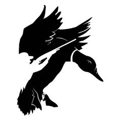Duck and Bird Hunting for Hunters Decal Sticker Duck Hunting Tattoos, Duck Tattoos, Hunting Decal, Gravure Laser, Waterfowl Hunting, Wood Burning Patterns, Plasma Cutting, Silhouette Cameo Projects, Vinyl Projects