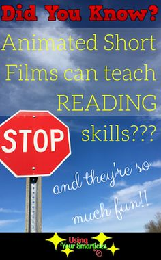 Animated short films reinforce common core reading skills and are GREAT reading comprehension lesson plans. Each middle school reading lesson plan takes about 40 minutes and they are perfect for a print-and-go lesson plan for a substitute teacher or obser