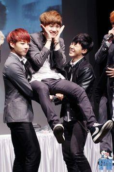BTS (JungKook, Suga and Jimin)