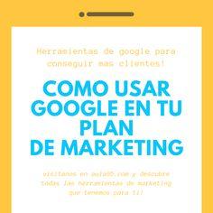Google, el buscador mas grande les mundo y uno de los principales pilares del auge del marketing digital y #SEO, brinda múltiples herramientas para mejorar nuestras estrategias de #marketing. El uso de estas #herramientas es muy intuitivo y sin ser un experto podrás iniciar en su uso, además que ofrecen un fuerte Apollo al momento de consolidar tus objetivos de marca, ¡conozcamos estas herramientas de #Google !