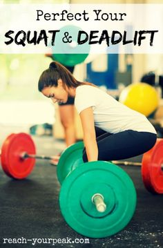 How To Squat And Deadlift With Correct Form #lifting
