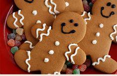 """Aprenda a fazer bolachinhas natalinas """"Gingerbread"""""""