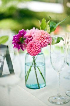 Pretty Flower Combination, Wedding Reception Decorations
