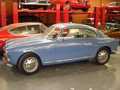 1962 Alfa Romeo Giulietta Sprint Coupe Side