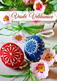 Veselé Velikonoce Easter, Christmas Ornaments, Holiday Decor, Food, Home Decor, Decoration Home, Room Decor, Easter Activities, Christmas Jewelry