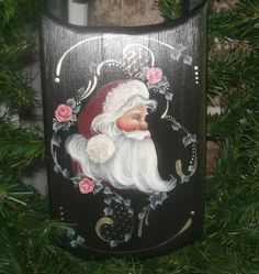 Have you ever seen such a beautiful Santa Sled!!  Handpainted  by BrushedByAnAngel on Etsy, $24.59