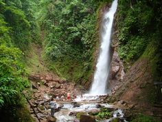 Tirol waterfall, San Ramon, Chanchamayo, Peru