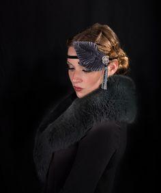 amour impossible Roaring Twenties headband