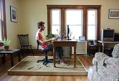 Artist Brings Relaxing Sandy Beach Into His Home Office - My Modern Metropolis