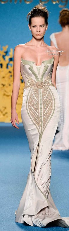Mireille Dagher Spring 2014 Haute Couture