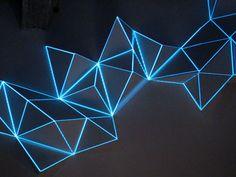 light sculpture - Google Search