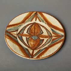 SALE vintage plate danish soholm art pottery noomi by northvintage