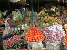 Market in Lome, capital of Togo