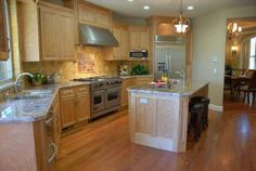 Kitchen Remodeling Ideas, Pictures of Recently Completed Kitchen Remodels