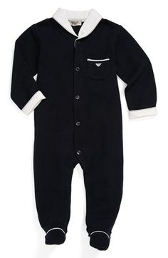 Armani Junior Quilted One-Piece. Too cute.