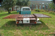 Vintage 60's trailer tent - VW camper van, glamping, camping , beetle, dandy | eBay