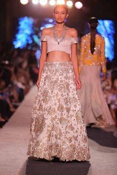 Manish Malhotra lakme fashion week 2015 blue runway