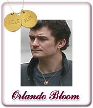 Orlando Bloom Vergoldene Kette