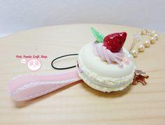 Light yellow creamy strawberry lightweight by pinkpandacraftshop