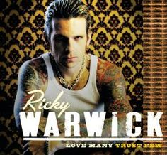 Ricky Warwick, former vocalist/guitarist from THE ALMIGHTY releases his second solo effort with guest appearances by: Vivian Campbell (DEF LEPPARD), Ian Hunte