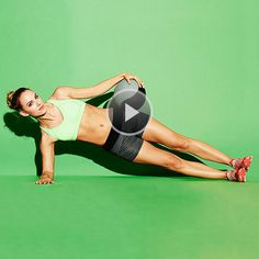 Exercise Ball Workouts: Loaded Hip Dip