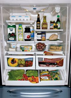 The Perfect Refrigerator - Stock your fridge with these foods that are essential for your health, happiness -and pocketbook.