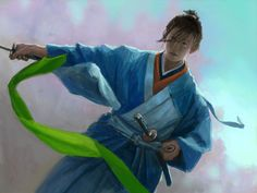Crane The Legend of 5 Rings  beautiful art from Asian inspiration and character studies by gifted artists with an eye for passion. Sexy but never trashy.  Paintings, drawings and digital renderings. Hanfu, wuxia, deities, and warriors. Legend of Five Rings, Dynasty Warriors... Fantasy art, Asian illustrations, digital painting