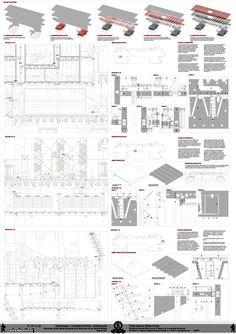 VLS_Very Large Structure  Lámina Construcción I / Paper Construction I