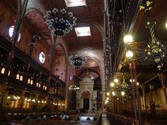 Sinagoga de Budapeste/Hungria.