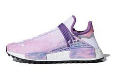 64fd25ecde4b2 Pharrell x adidas NMD Hu Trail Holi Pink Glow
