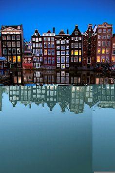warna warni senja : Reflection, Amsterdam, The Netherlands
