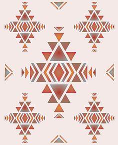 Navajo Large Firecreek Theme Pack Stencil