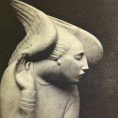 """wike-wabbits: """"Ivan Mestrovic's Archangel Gabriel """""""