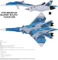 FFR-31MR-D Super Sylph usa by bagera3005.deviantart.com on @deviantART
