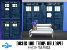 indiaskapie's Sim Who's TARDIS wallpaper