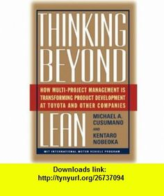 Xander homsher 5a5ql65 on pinterest thinking beyond lean how multi project management is transforming produ 9781439101773 michael a fandeluxe Images