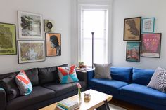 Trevor & Marie's Colorful Shared Space Dorm Furniture, Dream Apartment, Apartment Ideas, Cool Apartments, Dorm Bedding, Interior Inspiration, Small Spaces, Interior Decorating, Sweet Home