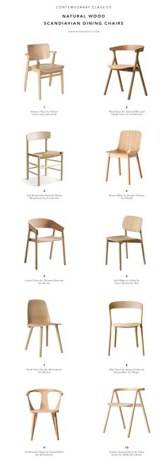 58 ideas modern wood chair natural light for 2019 Scandinavian Dining Chairs, Contemporary Dining Chairs, Scandinavian Interior Design, Contemporary Interior Design, Decor Interior Design, Furniture Design, Wood Chair Design, Scandinavian Lighting, Metal Furniture