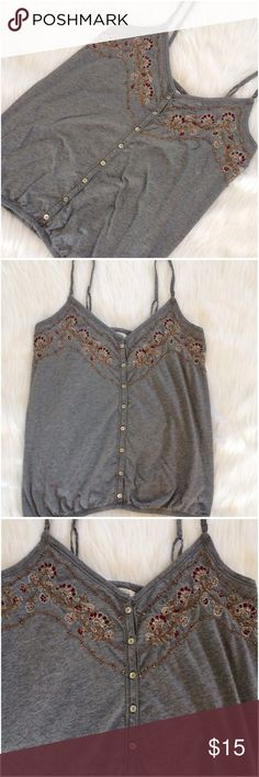 Abercrombie & Fitch Tank Top Abercrombie & Fitch Tank Top. Excellent condition. Size Large Color: Dark Gray Abercrombie & Fitch Tops