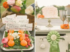 // Calligraphed place cards - Buzzy Craftery | Photographer Haley Sheffield