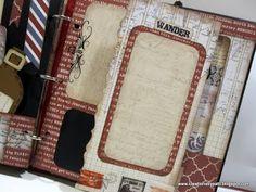 Creations by Patti: Teresa Collins far & Away Travel Mini Album
