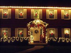 My home at Christmas!