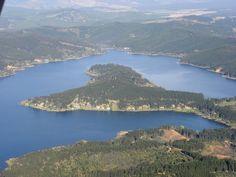 La Península, Lago Vichuquén