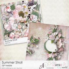 Lara´s Digi World: Summer Stroll Collection Collab with ADB Designs and FREEBIE