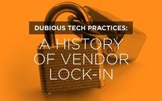 A History of Vendor Lock-In
