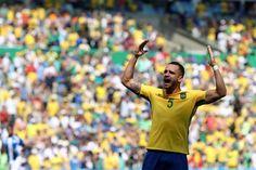 Renato Augusto - Semifinal futebol masculino: Brasil x Honduras